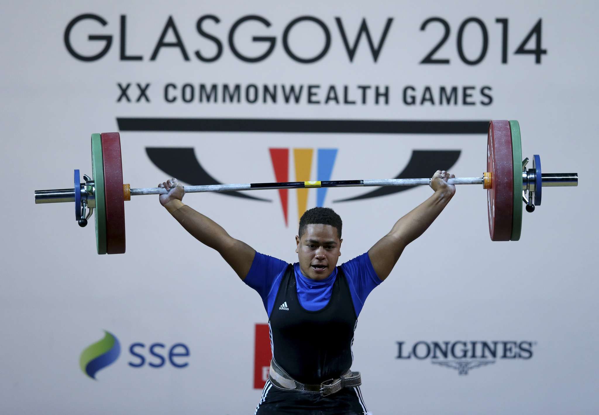 Apolonia Vaivai secured Fiji's only medal of the Glasgow 2014 Commonwealth Games ©Getty Images