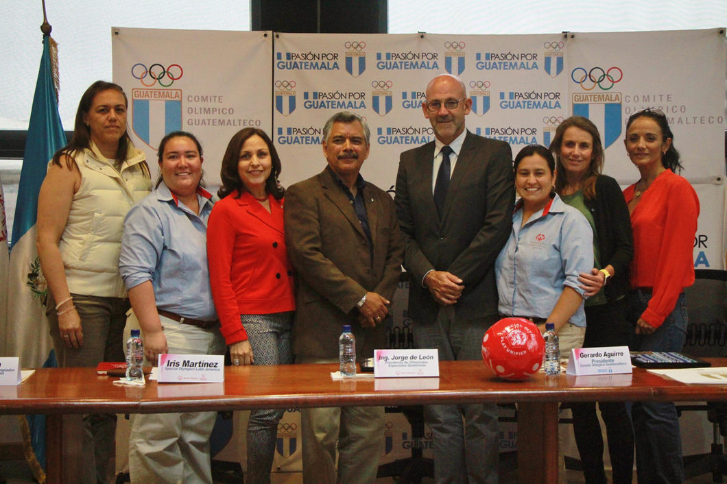 Guatemala Olympic Committee sign deal with Special Olympics