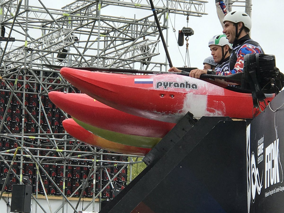 Trompeter and Hradilek secure extreme kayak golds as Canoe Slalom World Championships conclude