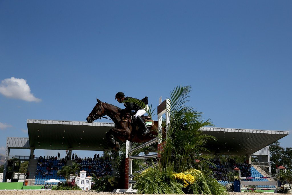 Showjumpers competed today in perfect conditions as the test event concluded ©Getty Images