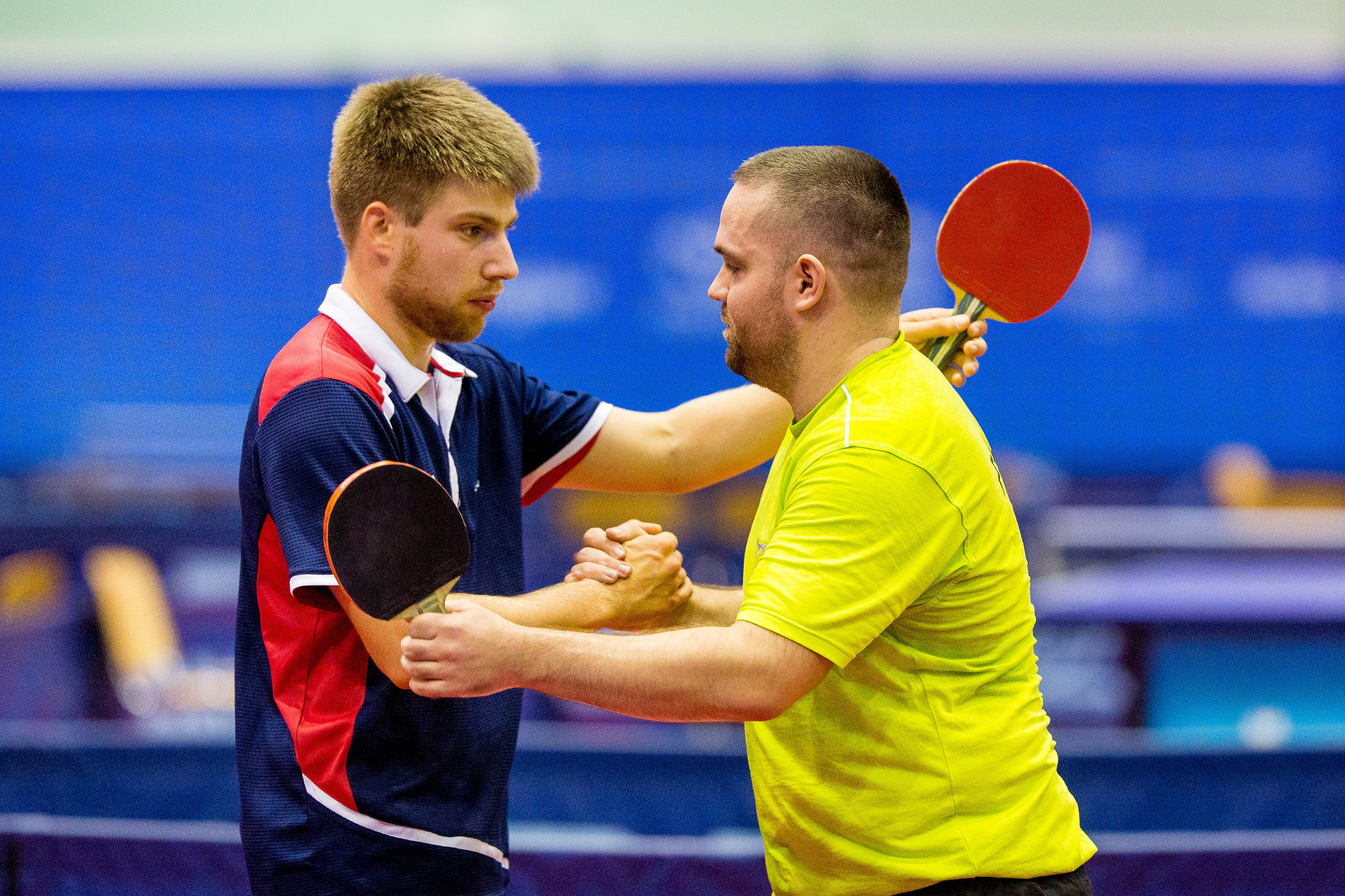 Team action will continue for the next three days ©ITTF