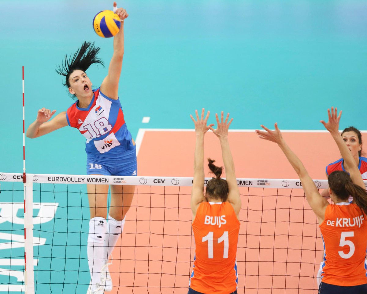 Serbia crowned Women's European Volleyball Championships winners by beating The Netherlands