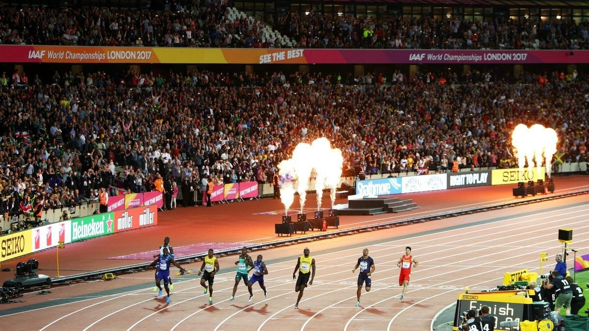 The European Championships in 2022 could see the return of world-class athletics to London ©Getty Images