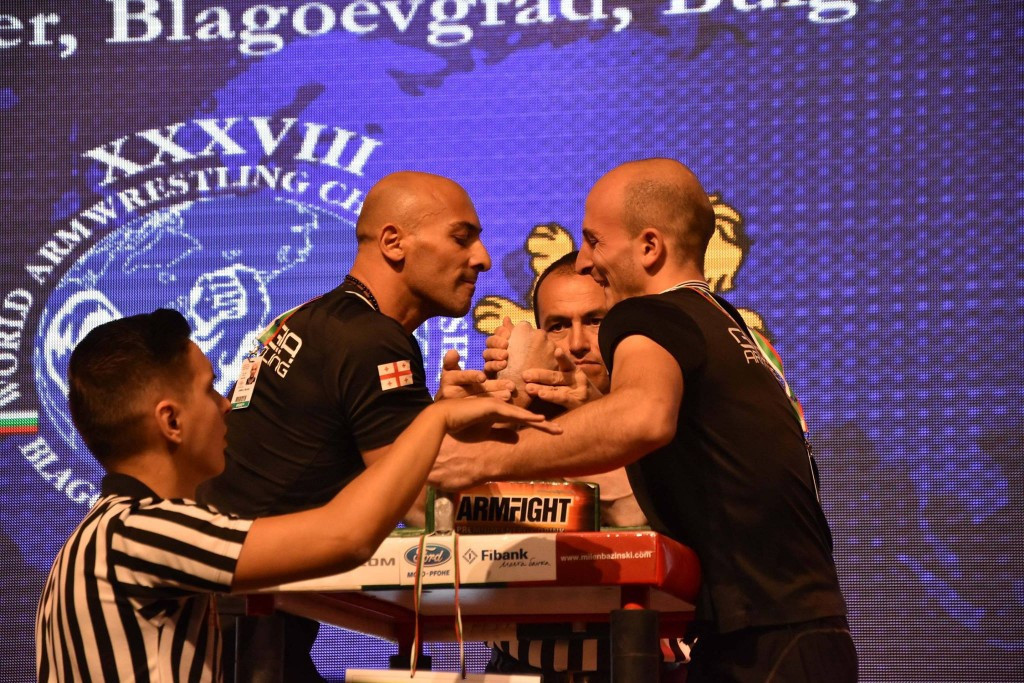 Armwrestling is another of the seven sports to be recognised ©Facebook
