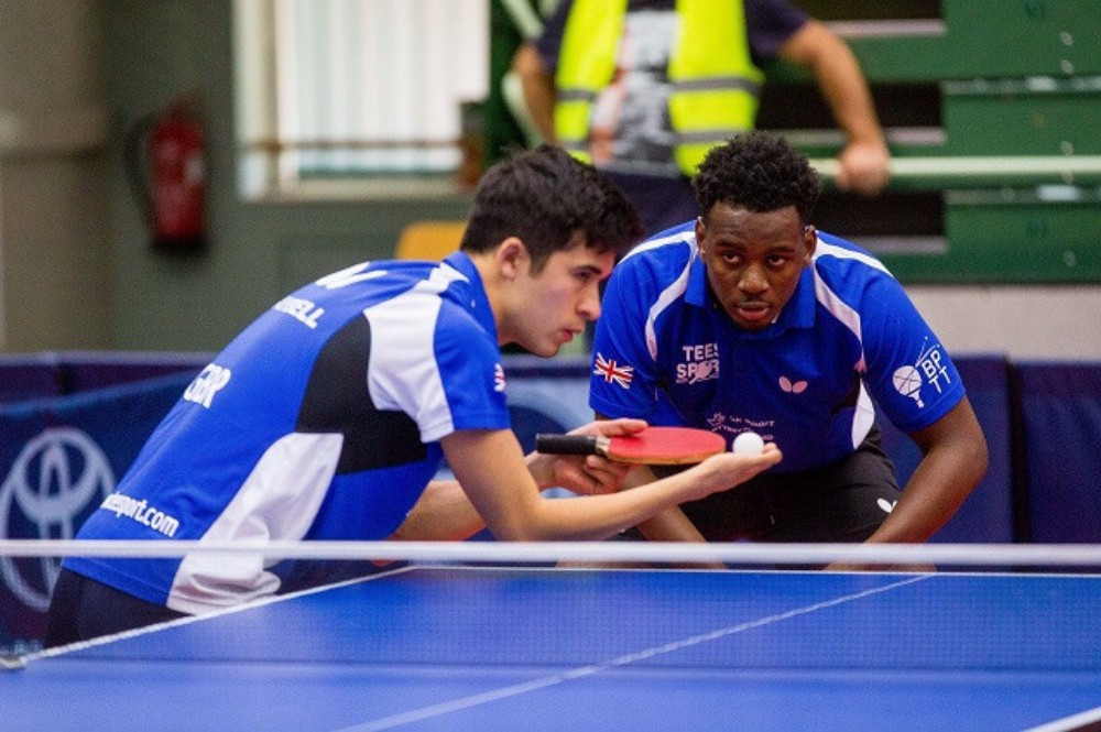 Britain's Kim Daybell and Ashley Facey Thompson are assured of at least a bronze medal ©GB Para Table Tennis / Twitter
