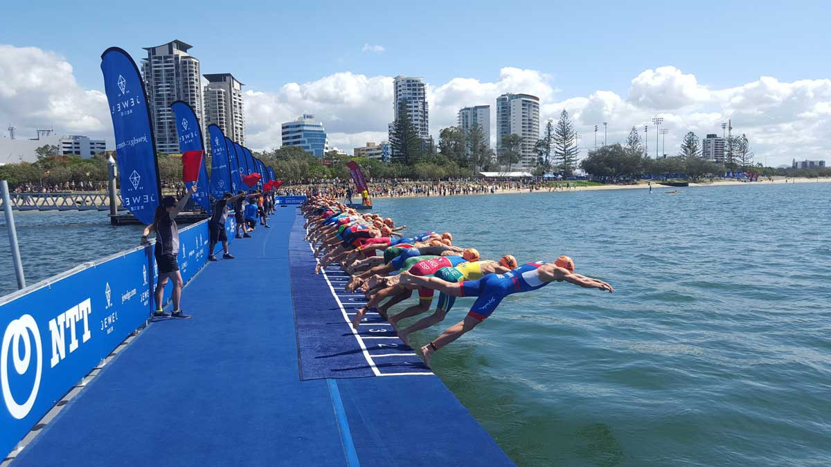 The course for triathlon events at the Gold Coast 2018 Commonwealth Games has been unveiled ©Gold Coast 2018