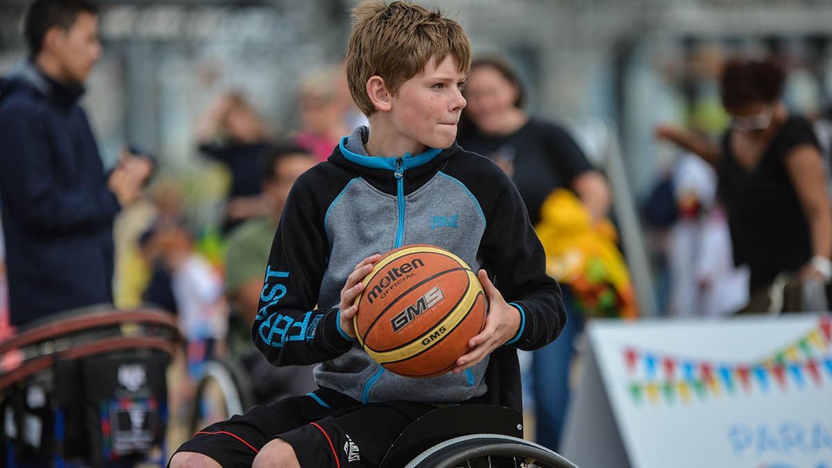 British Wheelchair Basketball was one of the national governing bodies to receive a financial boost ©Sport England