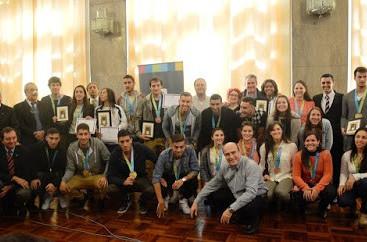 Uruguayan Pan American Games medal winners honoured in ceremony in Montevideo