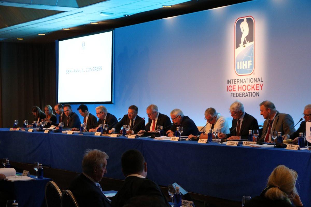 The proposal was introduced on the final day of the IIHF Semi-Annual Congress in Marbella ©IIHF