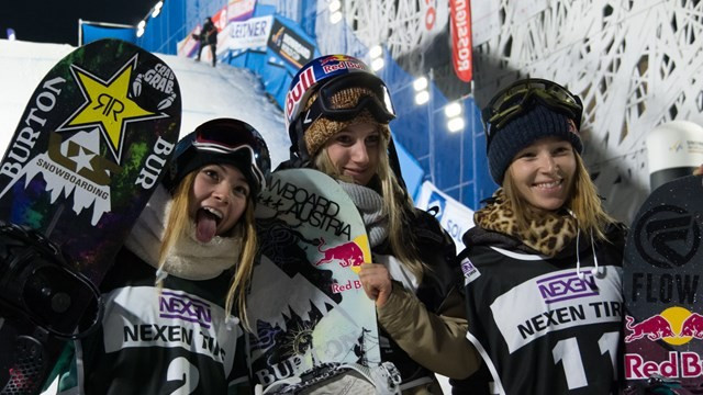 Austria's Anna Gasser won big air gold in Milan last year ©FIS