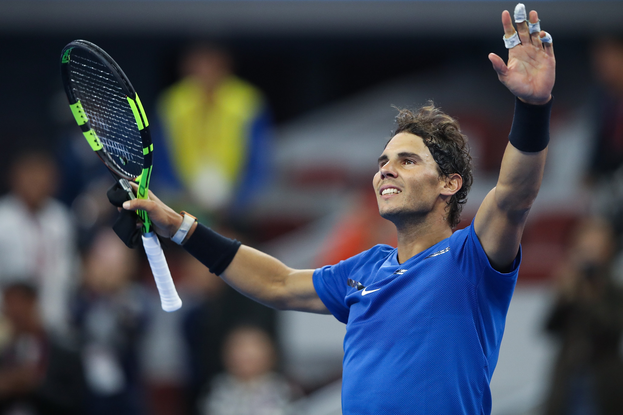 Nadal Survives Major Scare Against Pouille To Reach Second