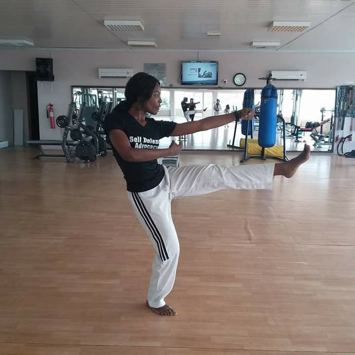 Nigerian taekwondo player uses discipline to boost gender equality