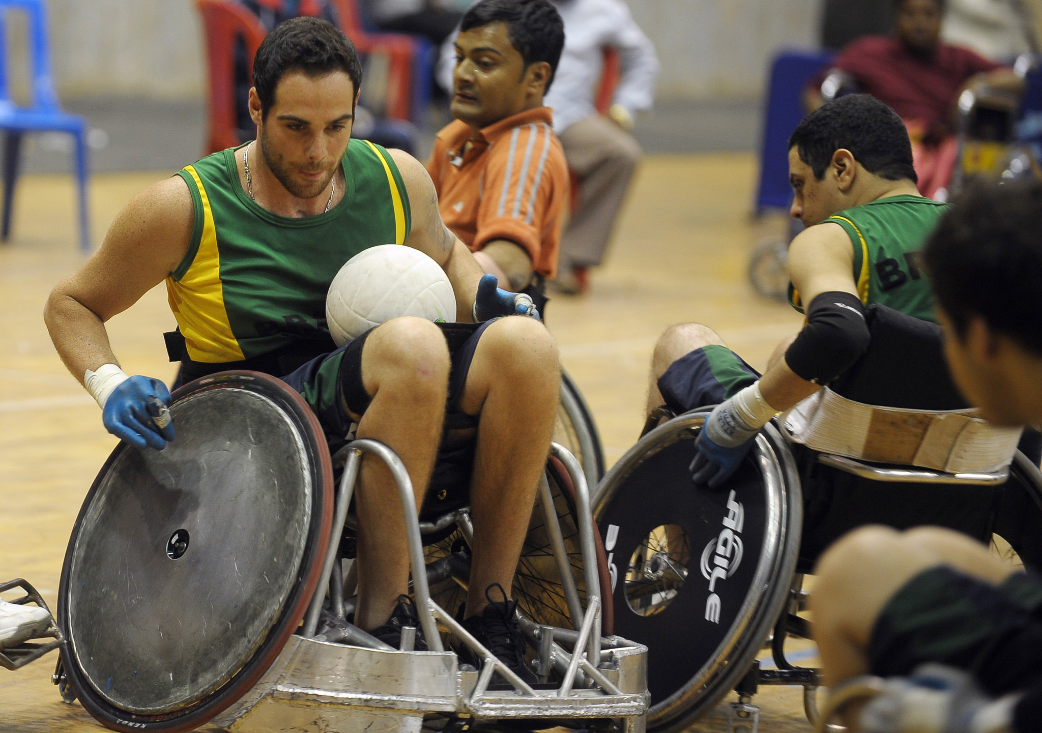 A new wheelchair rugby rule book is due to be published on January 1, 2018 ©Getty Images