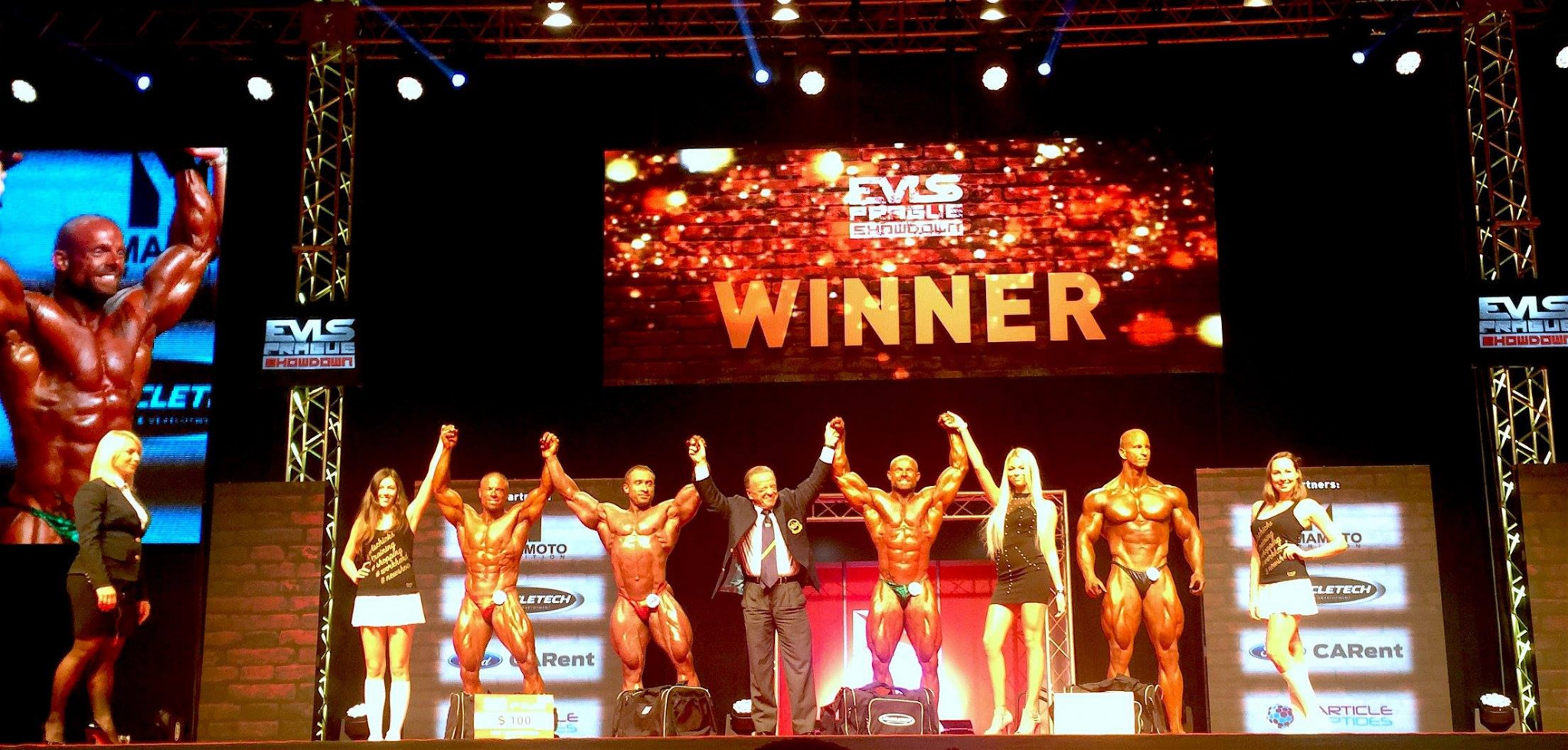 IFBB celebrates eventful weekend of bodybuilding competitions across Europe