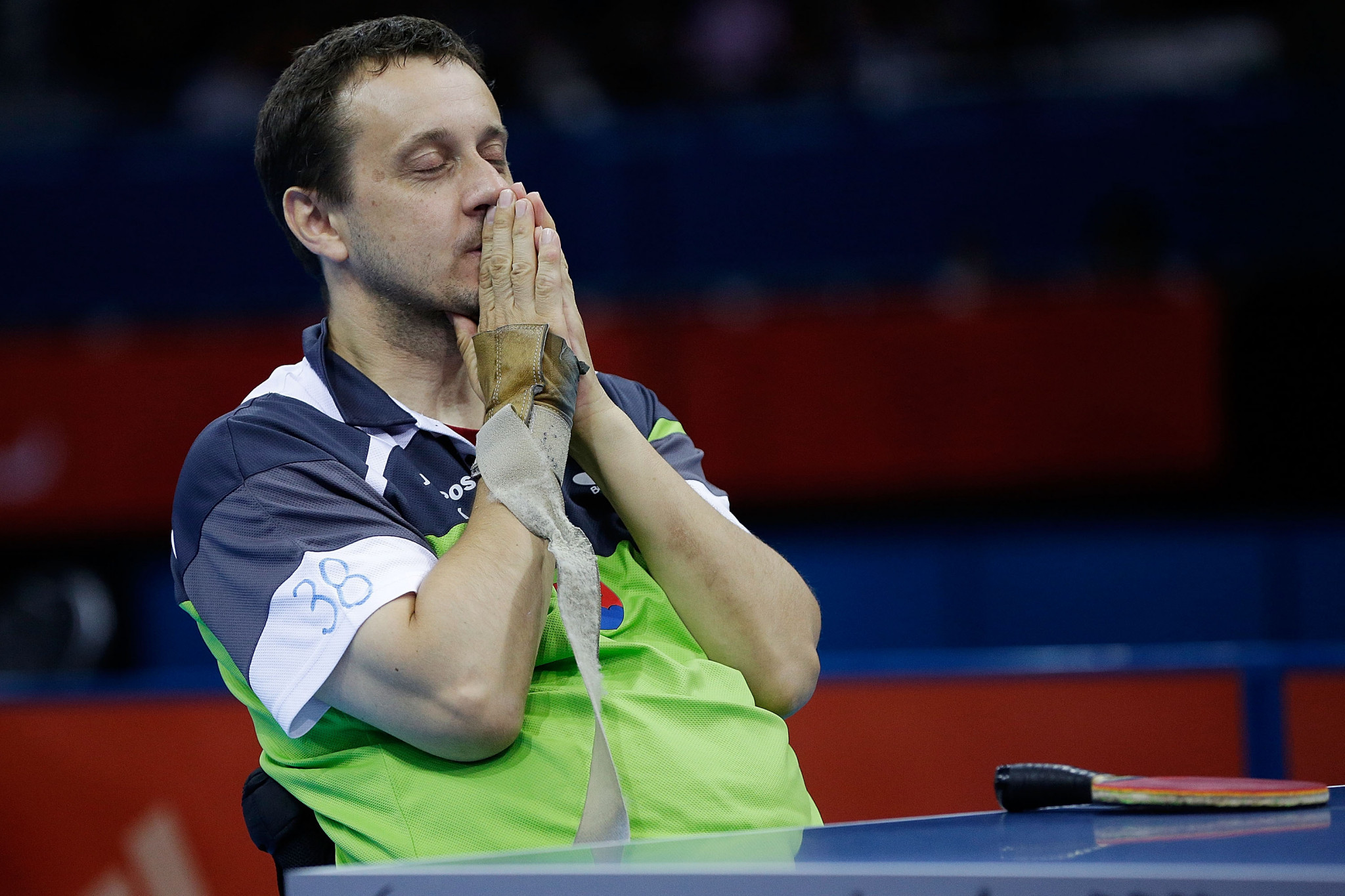 Defending champions eliminated by Slovakian duo at European Para Table Tennis Championships
