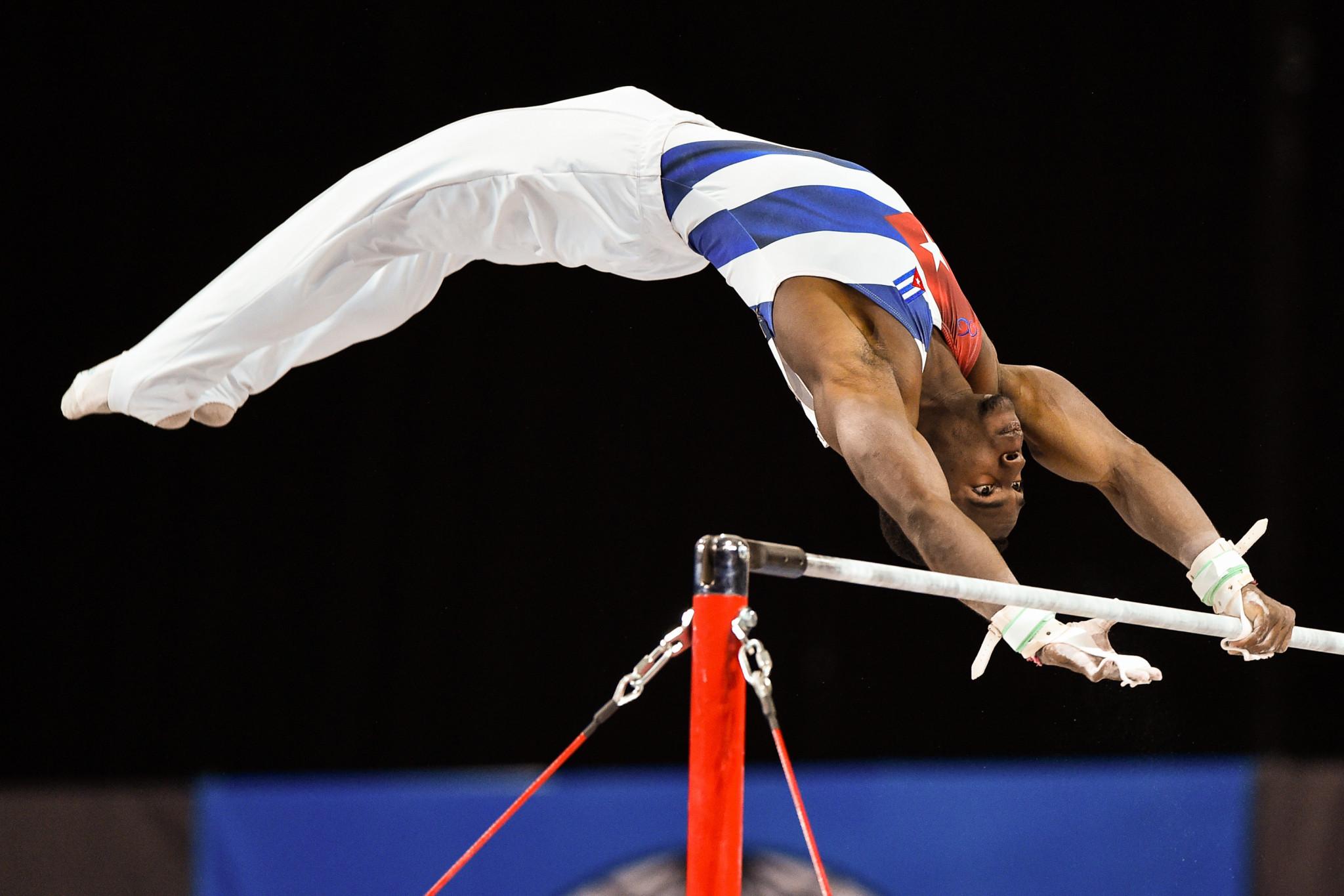 Larduet tops men's all-around qualification at Artistic Gymnastics World Championships