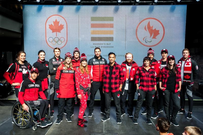 Canadian uniform for Pyeongchang 2018 unveiled by Hudson's Bay