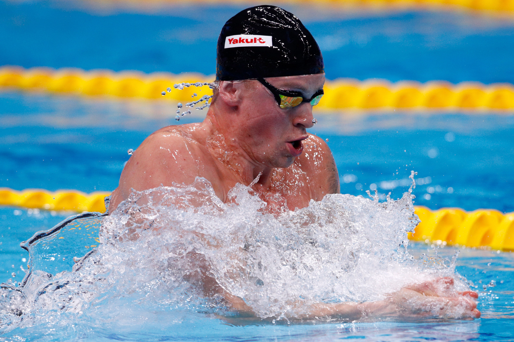 Adam Peaty, who will be headlining Team England swimmers at the Gold Coast 2018 Commonwealth Games  ©Getty Images