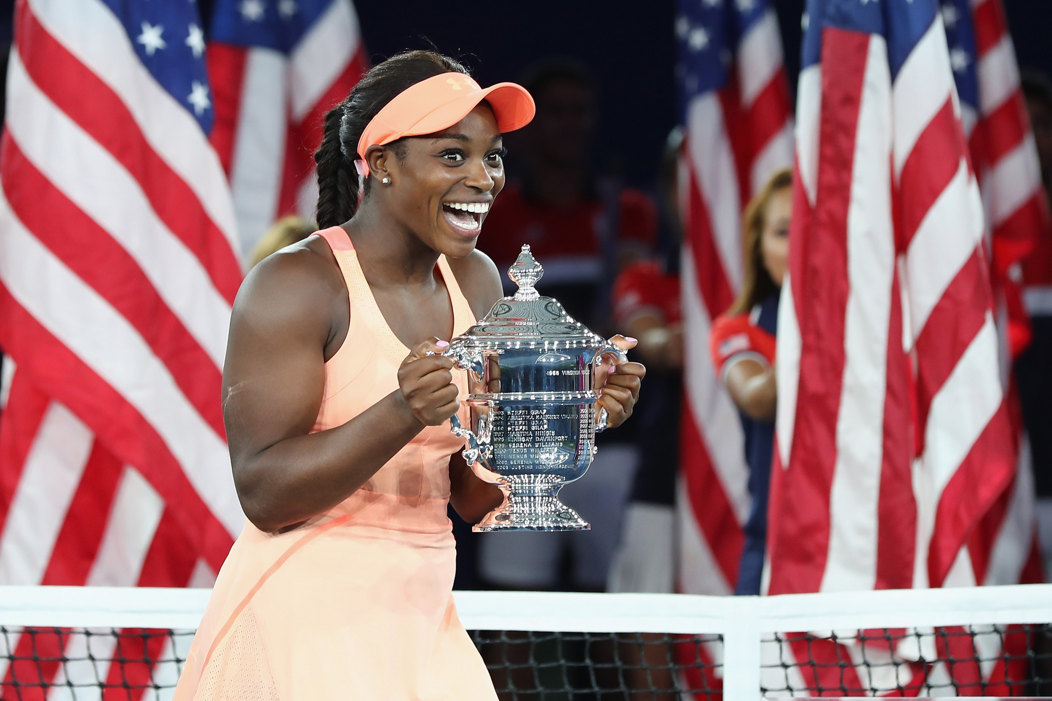 Sloane Stephens is among the women's nominees ©Getty Images