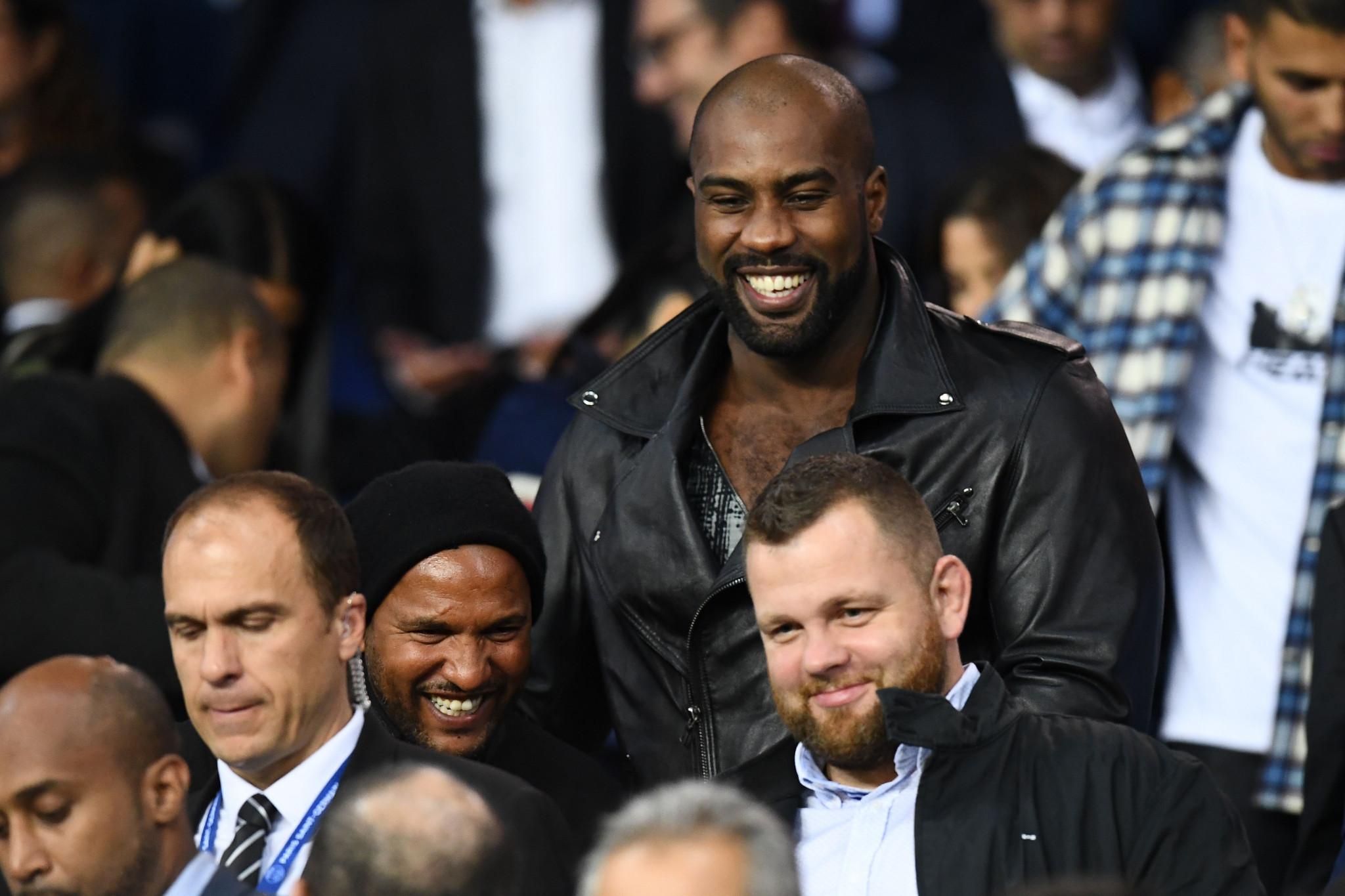 Riner signs five-year deal to relaunch judo team at Paris Saint-Germain
