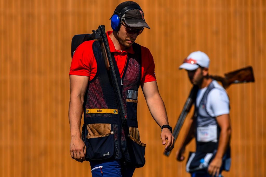 Austria's Sebastian Kuntschik secured a Rio 2016 quota place for Austria despite defeat in the final