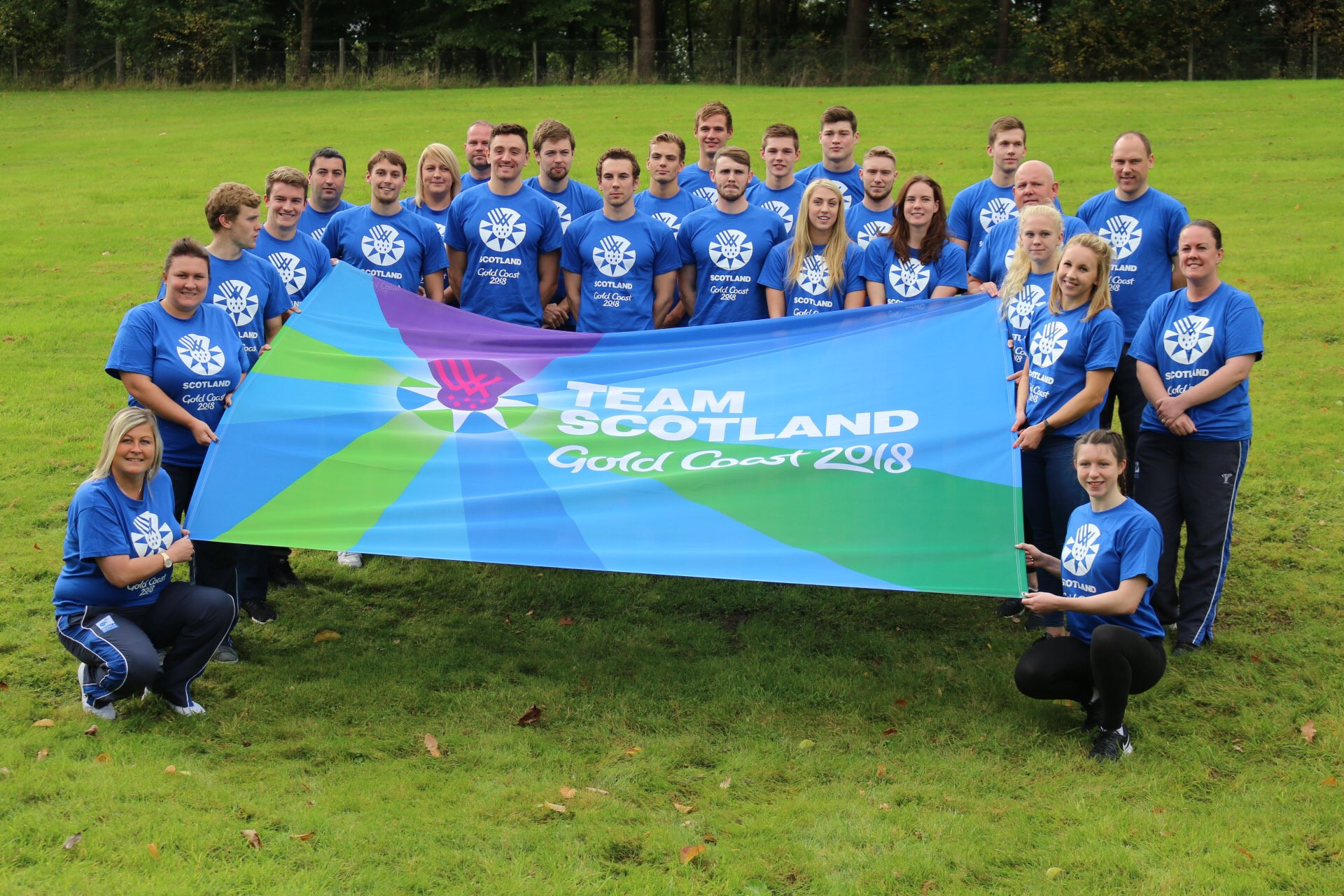 Scotland have announced their first team members for the Gold Coast 2018 Commonwealth Games ©Commonwealth Games Scotland