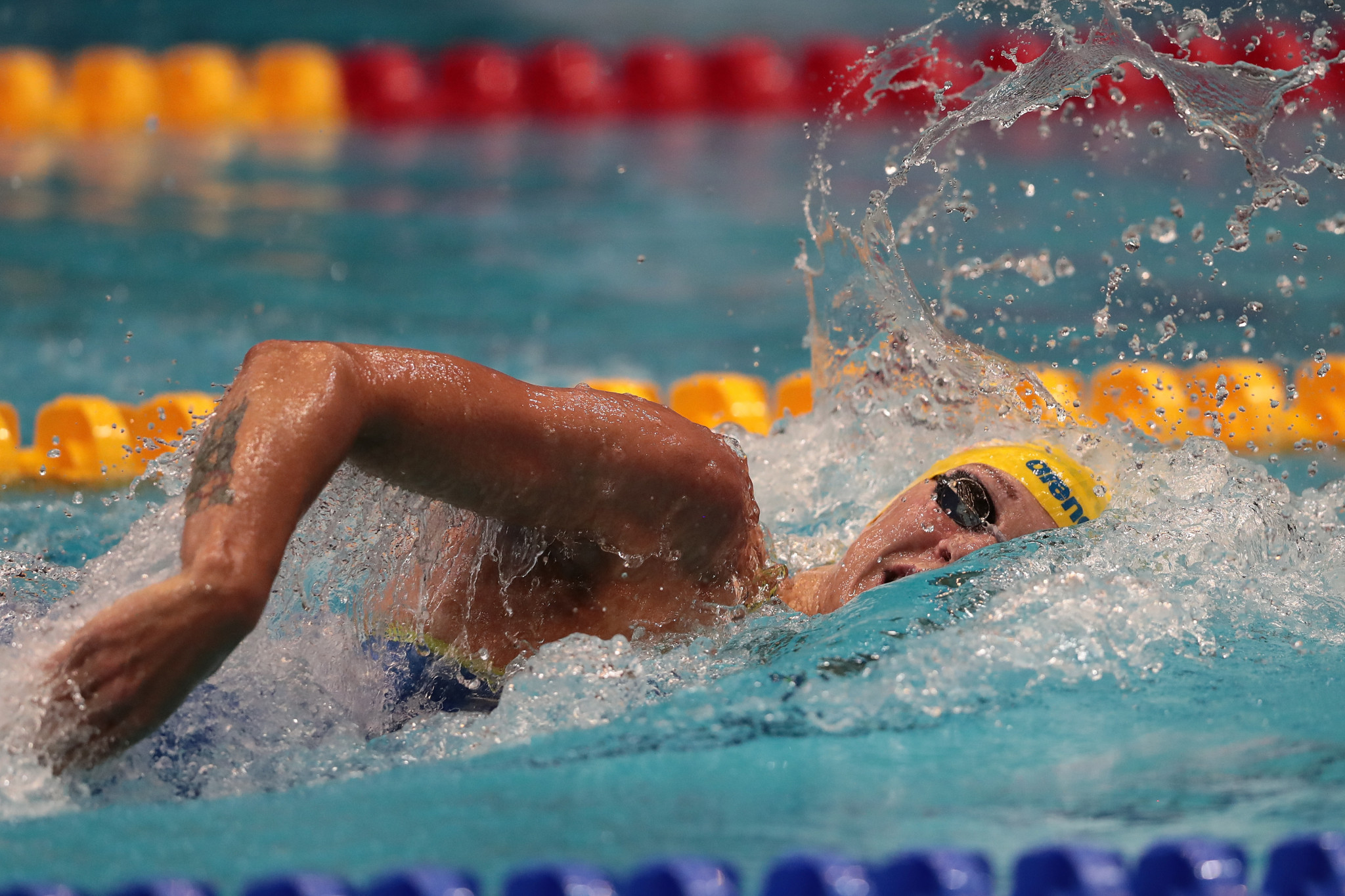 Sarah Sjöström of Sweden and Chad le Clos of South Africa strengthened their position at the summit of the overall women's and men's leaderboards as they each recorded two victories ©Getty Images