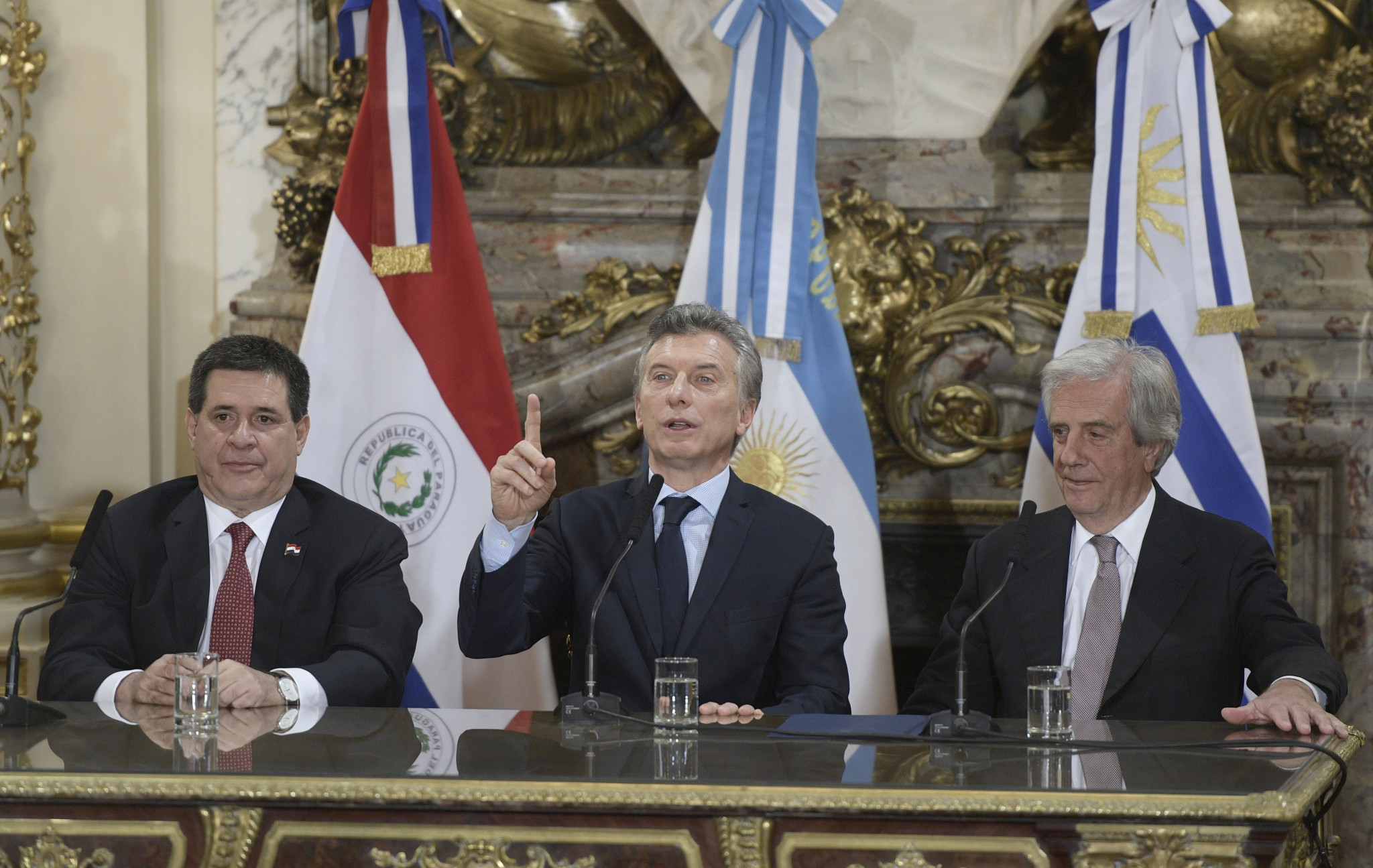 Argentina, Paraguay and Uruguay announce plan for joint 2030 FIFA World Cup bid