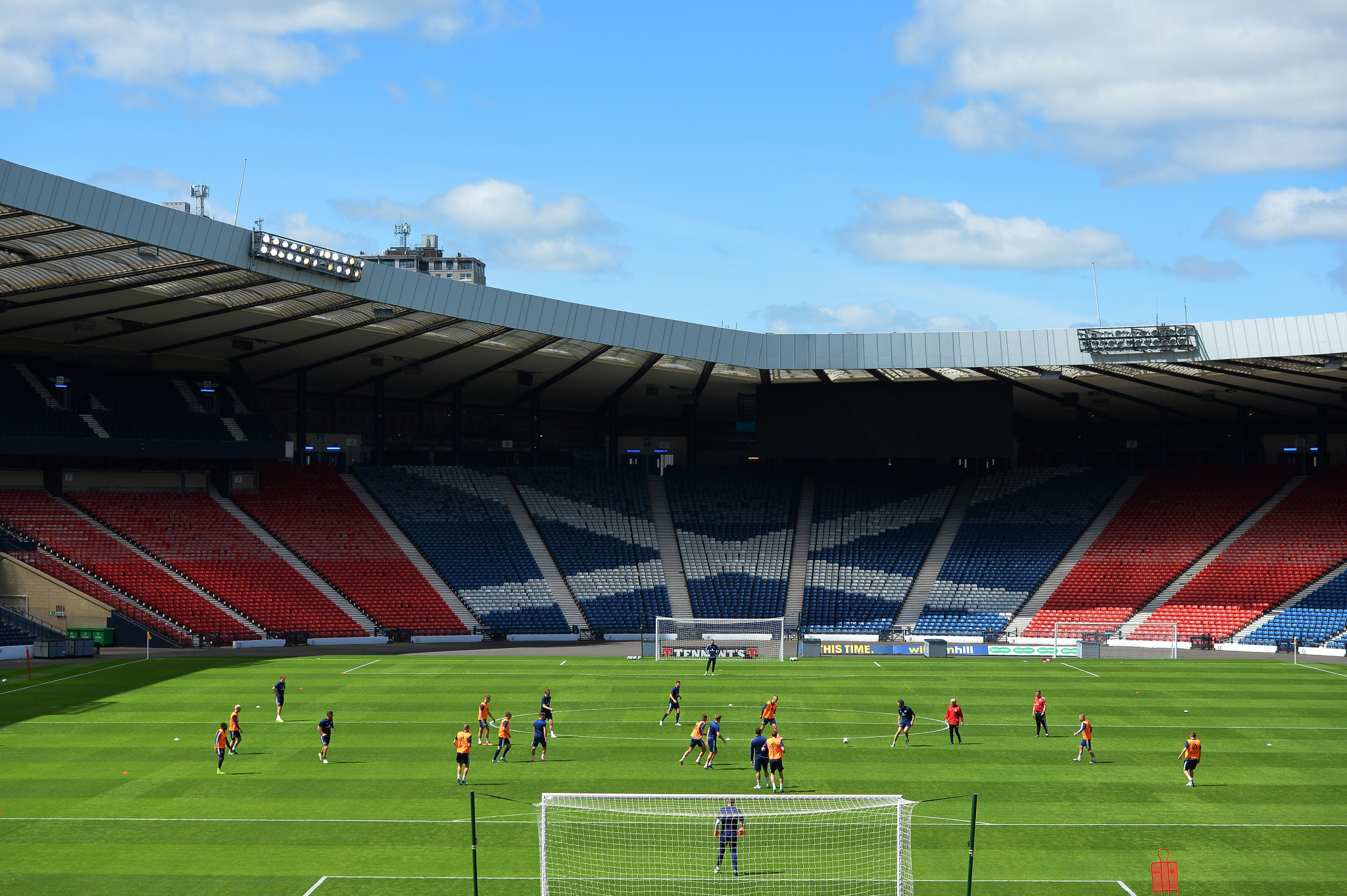 Hampden Park will play host to three group stage matches and a round of 16 game at Euro 2020 ©Getty Images