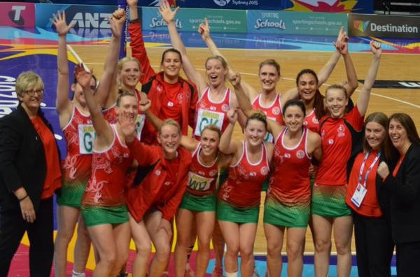 Wales top Pool D after hard-fought win over Uganda at Netball World Cup