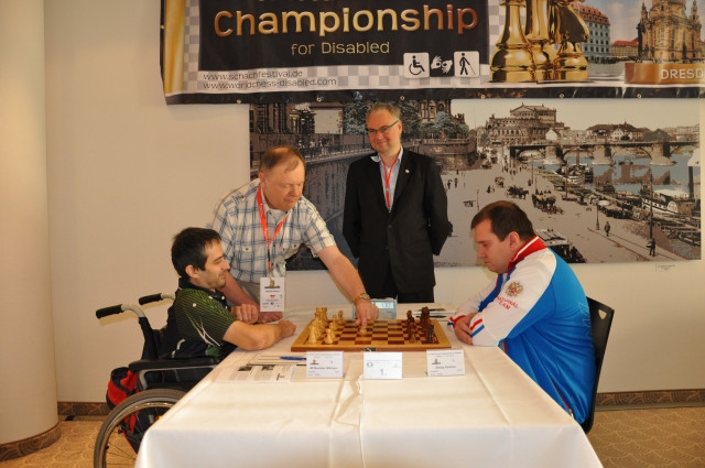 The previous two editions of the World Chess Championship for the Disabled were also held in Dresden ©World Chess Championship for the Disabled