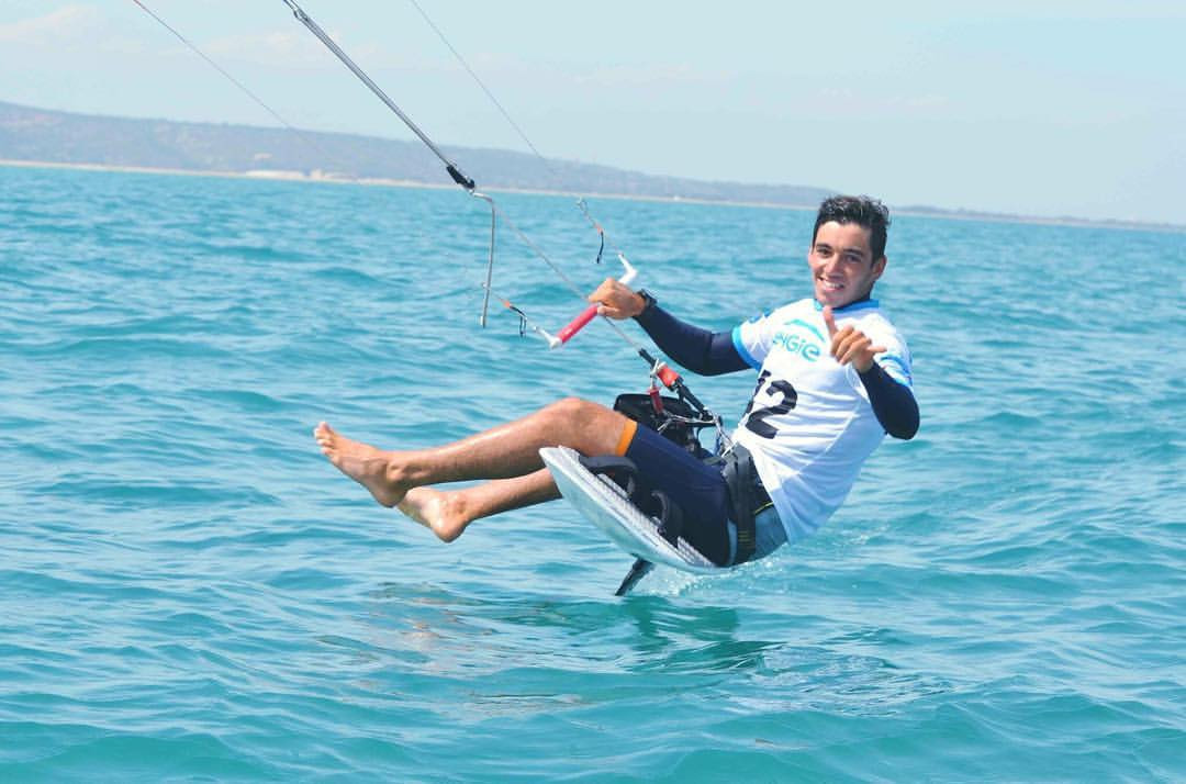 French duo hold early lead at KiteFoil GoldCup