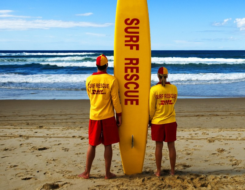 The  Opening Ceremony at Gold Coast 2018 will feature 400 surf life savers  ©Queensland Surf Livesavers