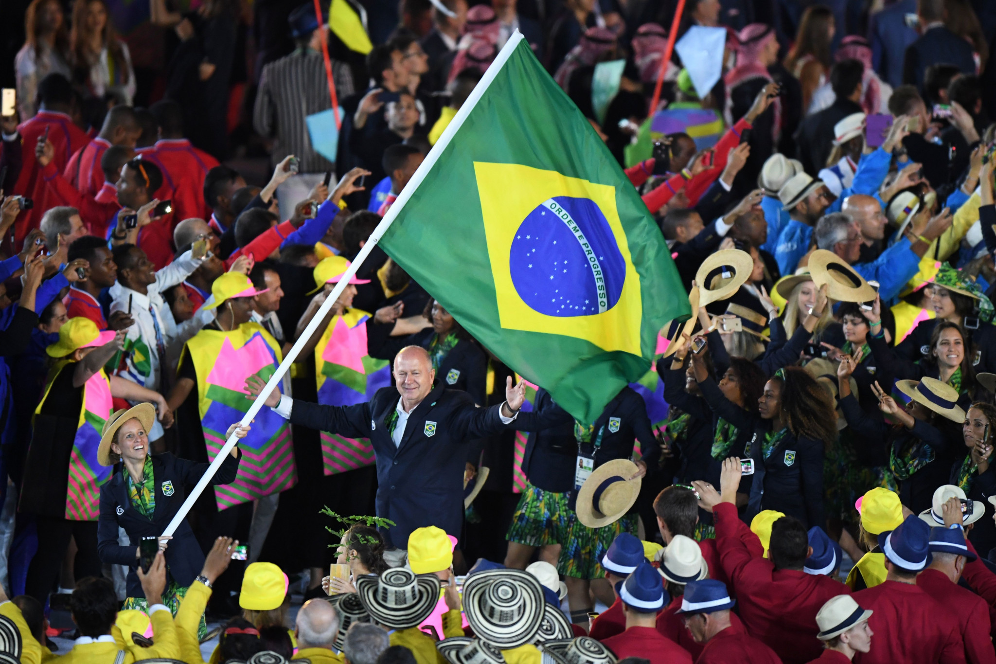 Brazilian athletes should still be able to march and compete under their own flag at Pyeongchang 2018 ©Getty Images