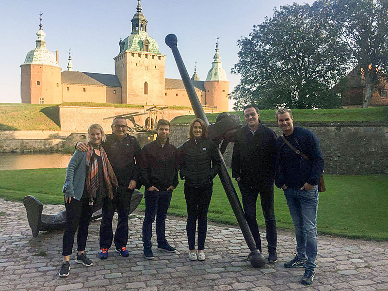 Swedish city Kalmar was visited by a party from the International University Sports Federation to inspect progress before next year's World University Triathlon Championship ©FISU