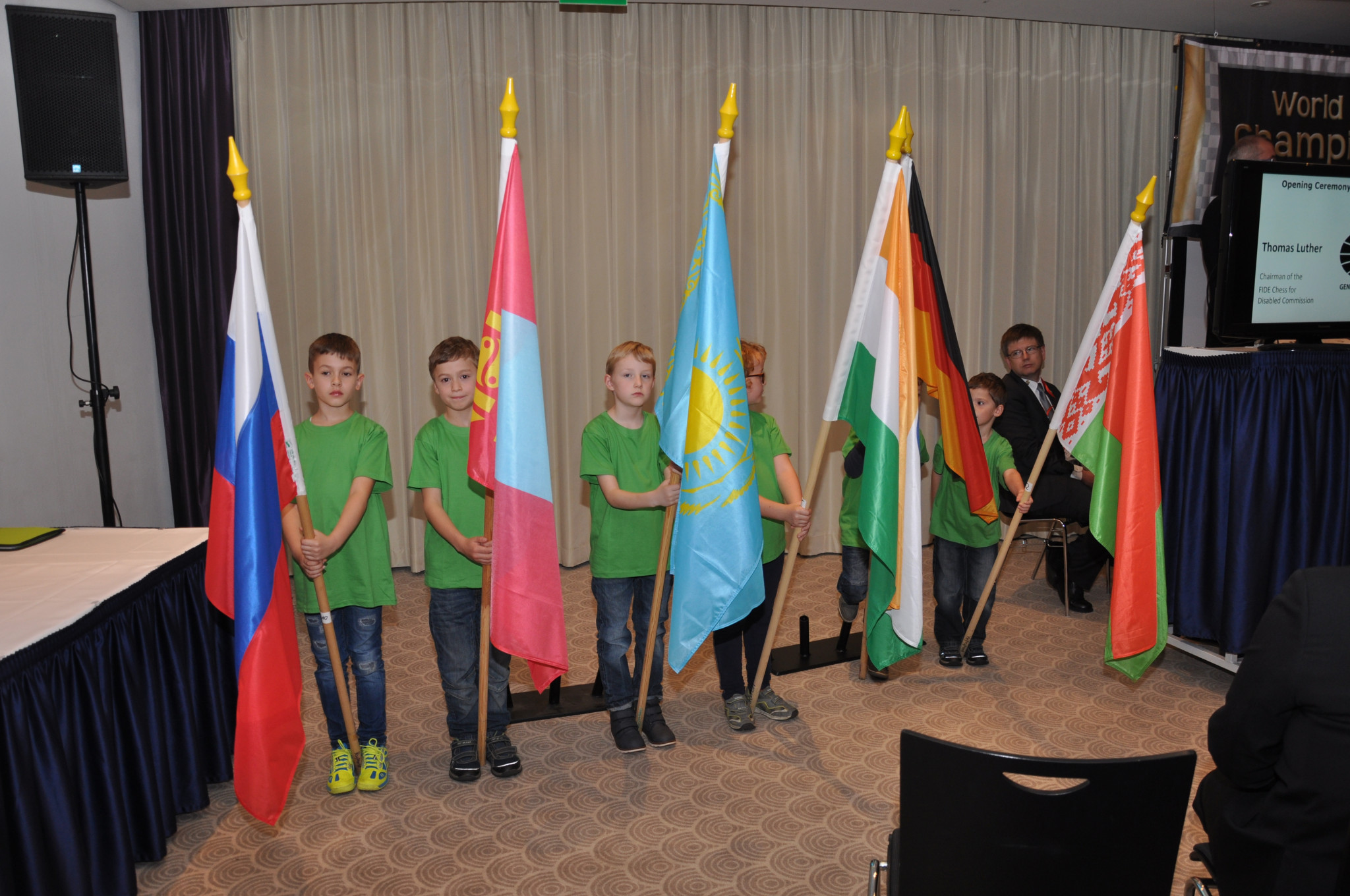 Players from 11 National Federations are represented at the event ©World Chess Championship for the Disabled