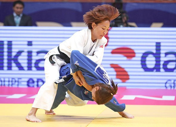 Urantsetseg claims fifth IJF Grand Prix title on opening day in Tashkent