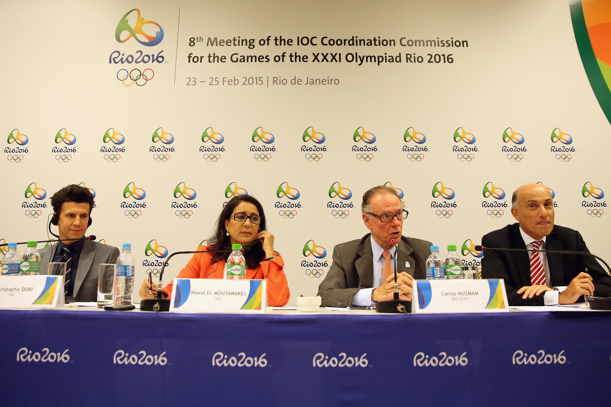 Carlos Nuzman, speaking during a pre-Olympic inspection visit to Rio 2016 ©Getty Images