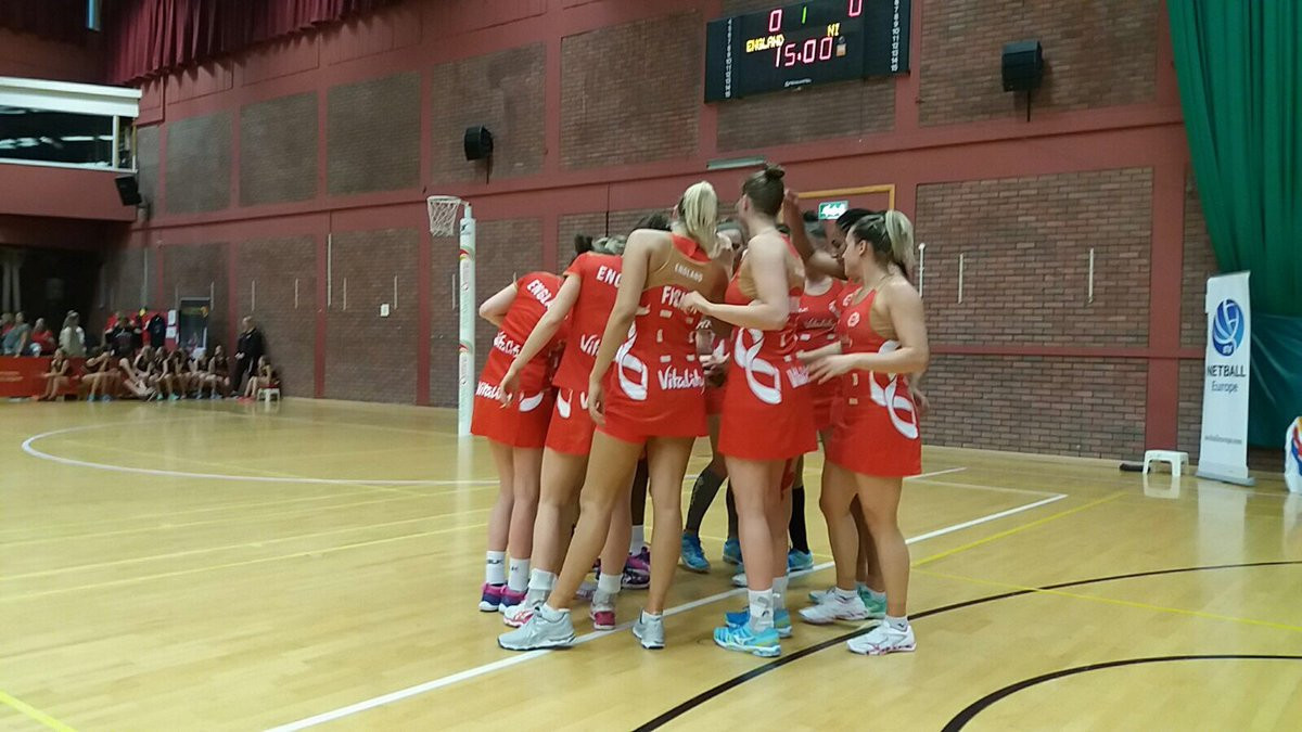 England make strong start to European Open Netball Championships title defence