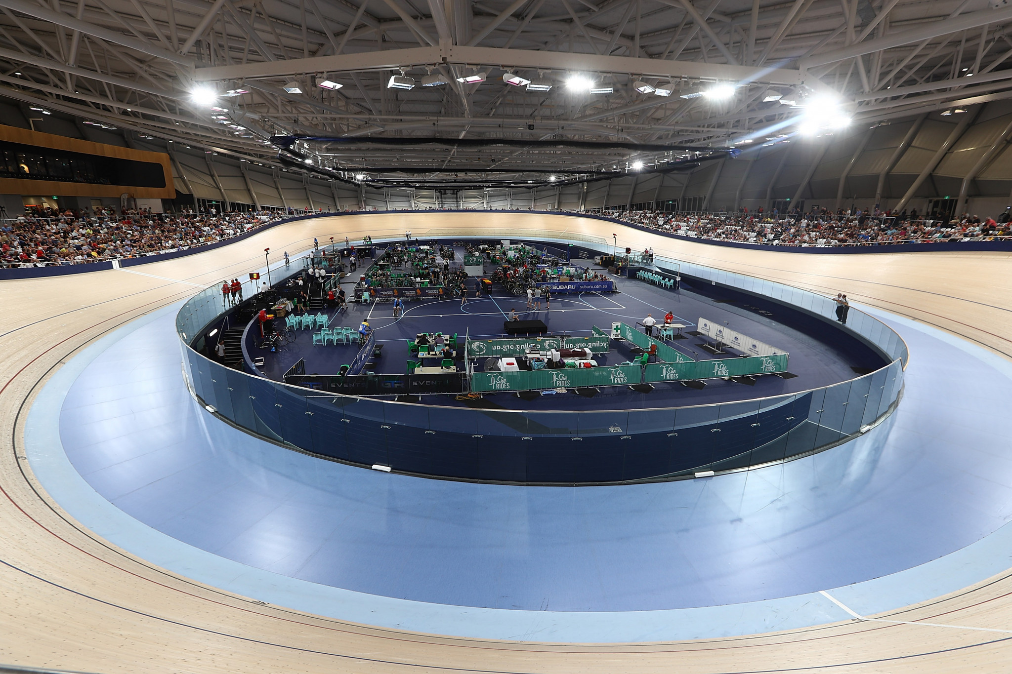 Delegates could choose to visit the Anna Meares Velodrome, one of two venues in Brisbane ©Getty Images