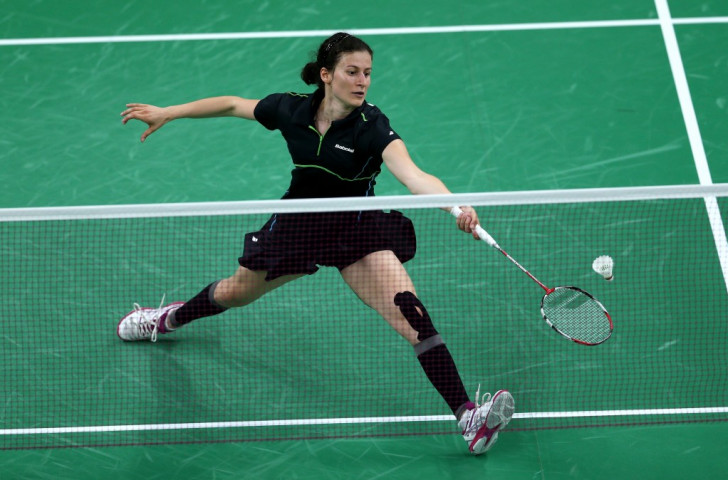 Linda Zetchiri of Bulgaria is through to the second round of the Badminton World Championships following a three-game win over Germany's Karin Schnaase ©Getty Images