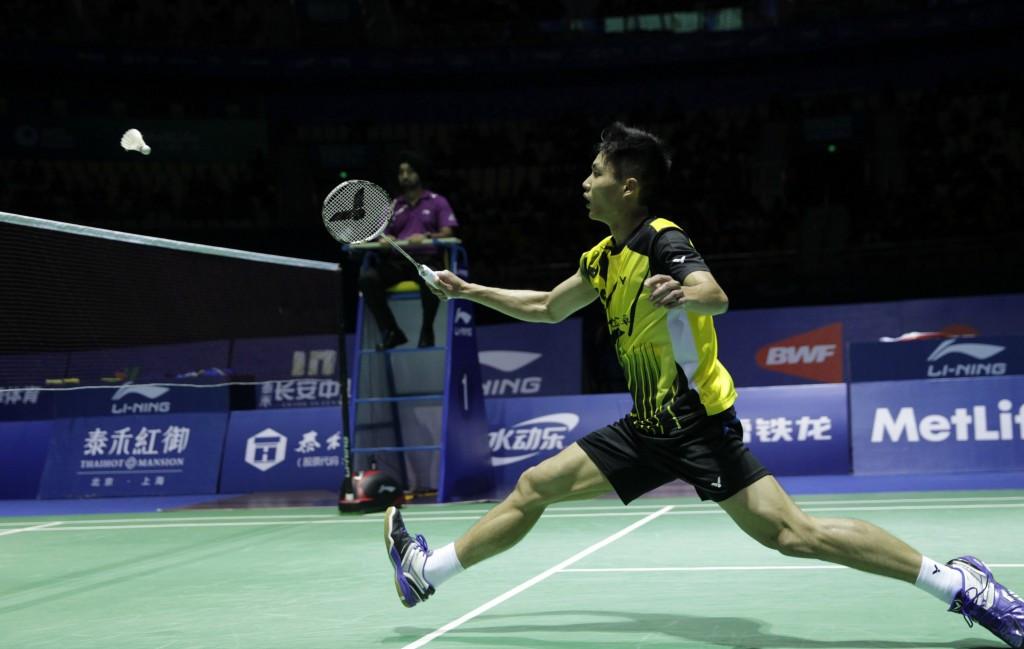 Asian Games bronze medallist Chou Tien Chen suffered a shock first round exit after he lost to Malaysia's Zulfadli Zulkiffli