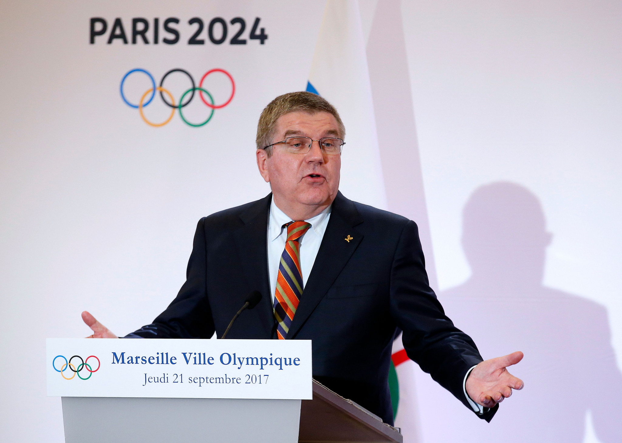 IOC President Thomas Bach has warned weightlifting to address their doping problem or lose their place on the Olympic programme ©Getty Images