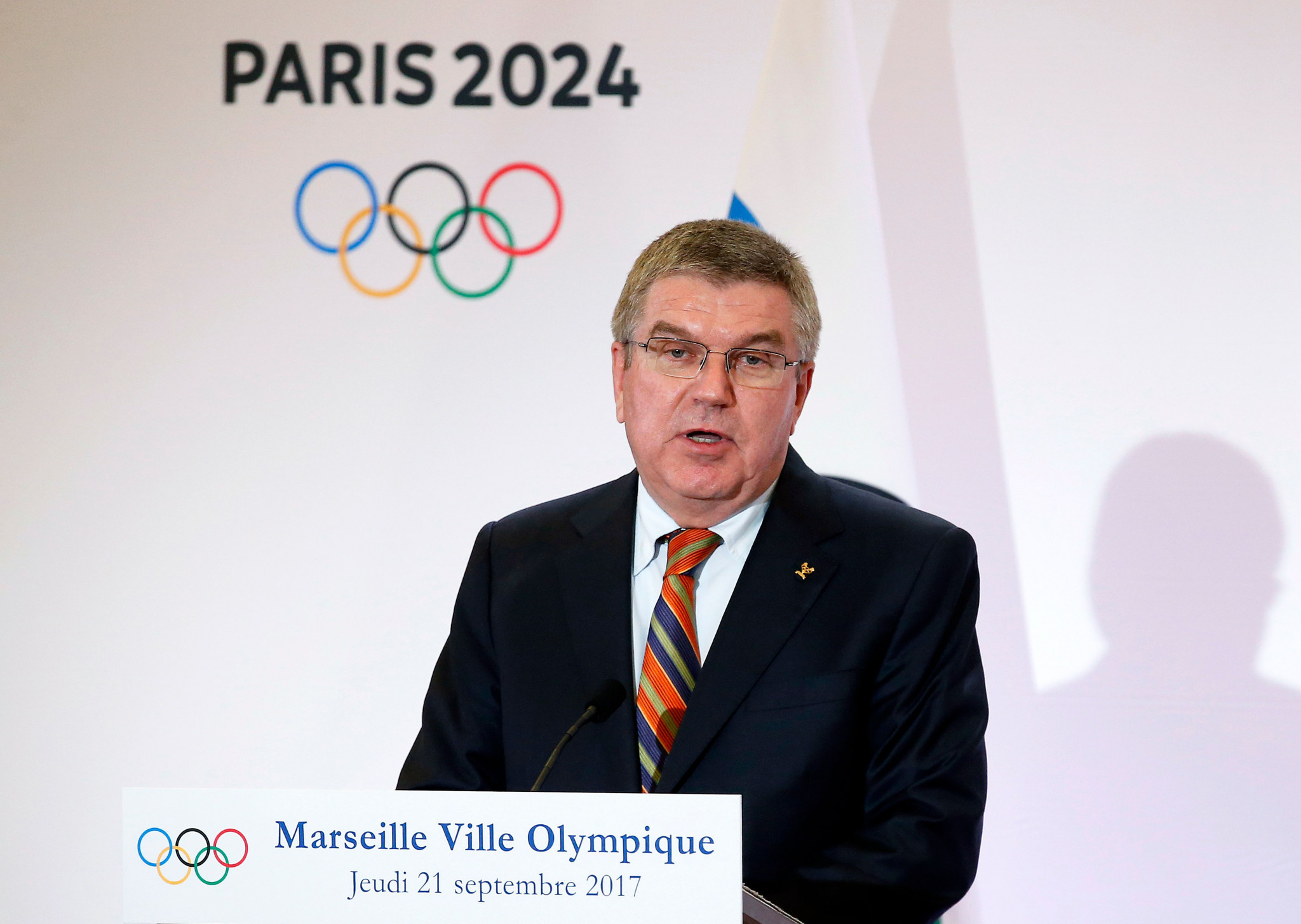 Thomas Bach will deliver opening remarks at the Advancing Women in Leadership Roles Forum ©Getty Images
