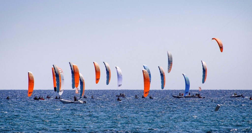 Parlier maintains lead on penultimate day at IKA KiteFoil Gold Cup