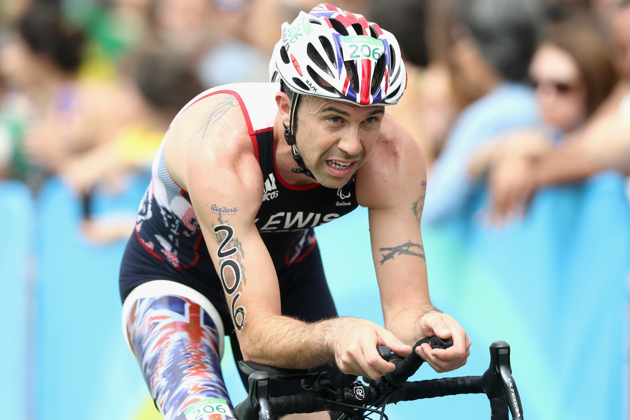 Lewis aiming to mark successful season with victory at season-ending Paratriathlon World Cup