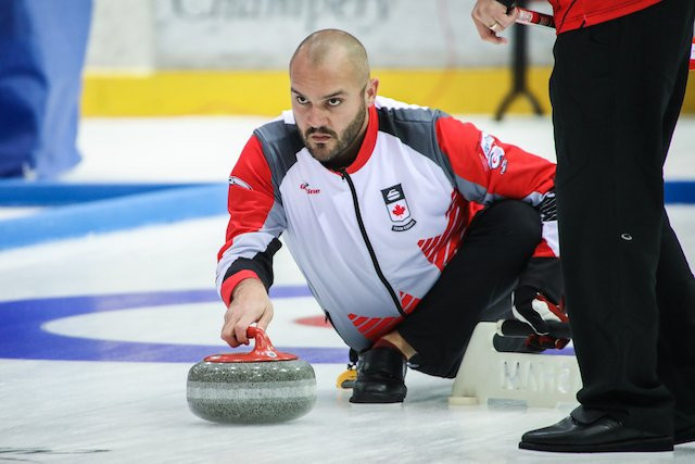 Canada won in comfortable fashion today in their opening match ©Curling Canada