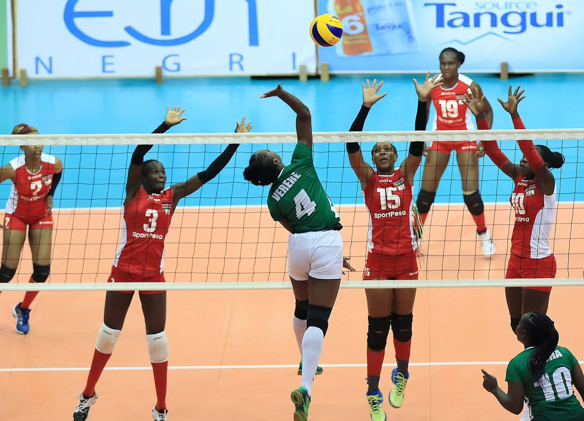 Defending champions Kenya ease to straight sets win as African Women's Volleyball Championship begins