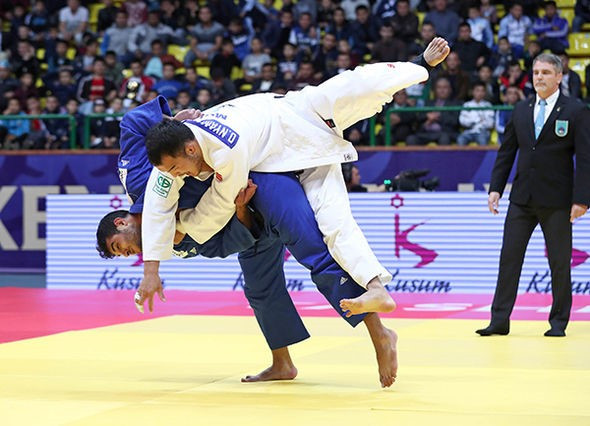 Sagi Muki of Israel justified his decision to move up in weight class as he claimed gold in the under 81kg division ©IJF