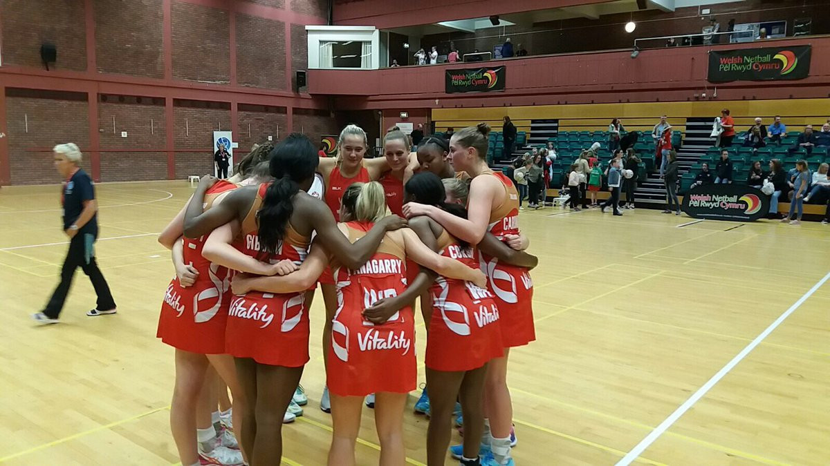 England maintain 100 per cent record with win over Fiji at European Open Netball Championships